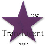 Channel Sign Letters Colors 2287 Purple