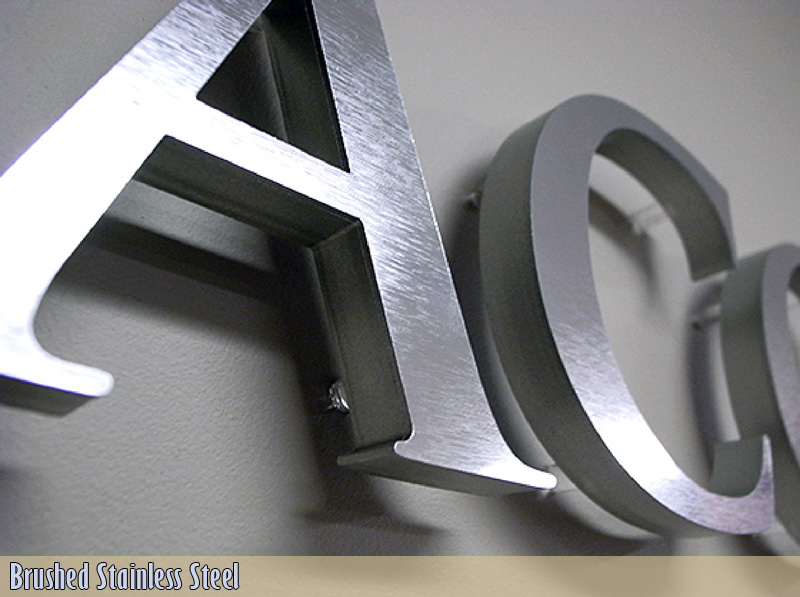 Fabricated Metal Sign Letters